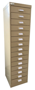15 Draw Flat File Cabinet ~ 64mm Capacity