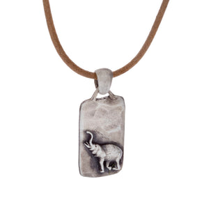 Mini Elephant Conservation Pendant