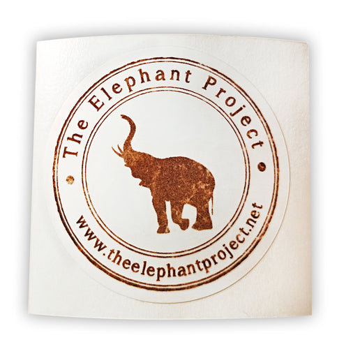 Elephant Project Support Stickers
