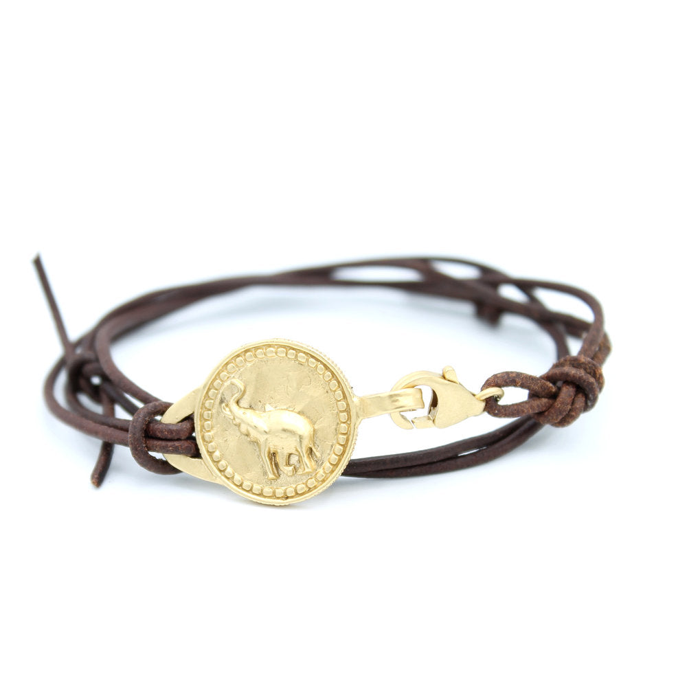 Elephant Conservation Currency Double Wrist Wrap