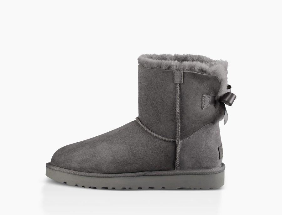 Women's Mini Bailey Bow II Fashion Boot - 1016501 - Grey