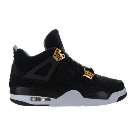 "Air Jordan 4 Retro ""Royalty"" - 308497-032 Black Metallic Gold - Men's Shoe"