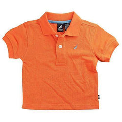Nautica Piece Pique Orange Months