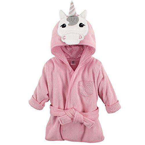 Hudson Baby Animal Bathrobe Unicorn