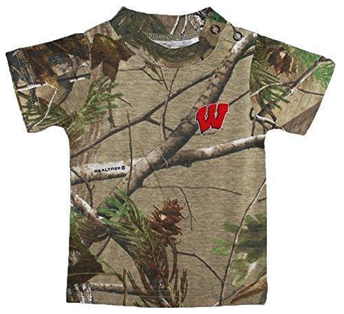 Wisconsin Badgers Camouflage College Newborn