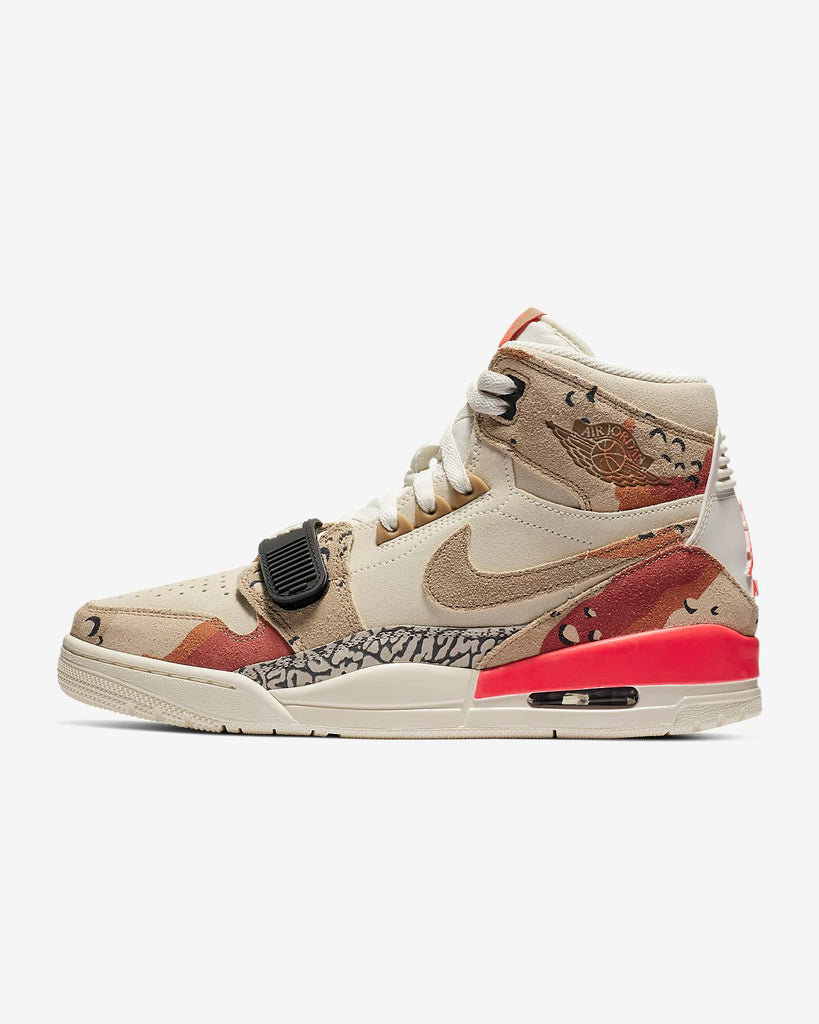 Air Jordan Legacy 312 Sail/Infrared 23/Desert Camo Men's Shoe AV3922-126