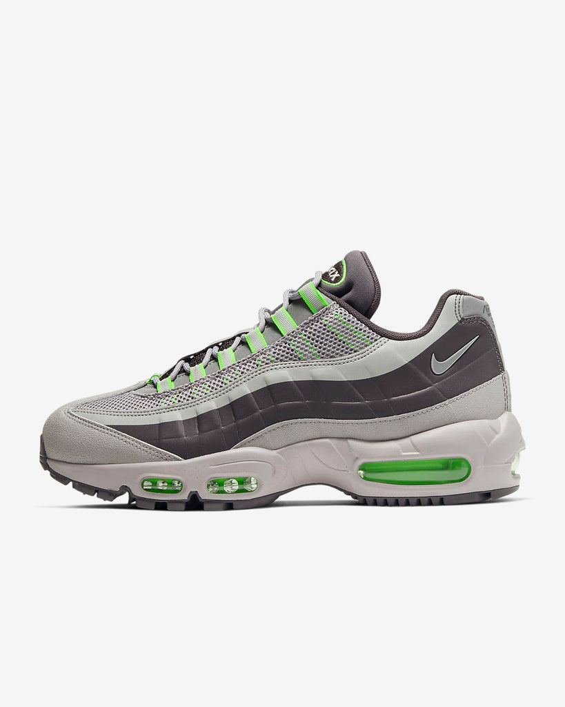 NIKE AIR MAX 95 ICE BLUE AND SILVER REFLECTIVE