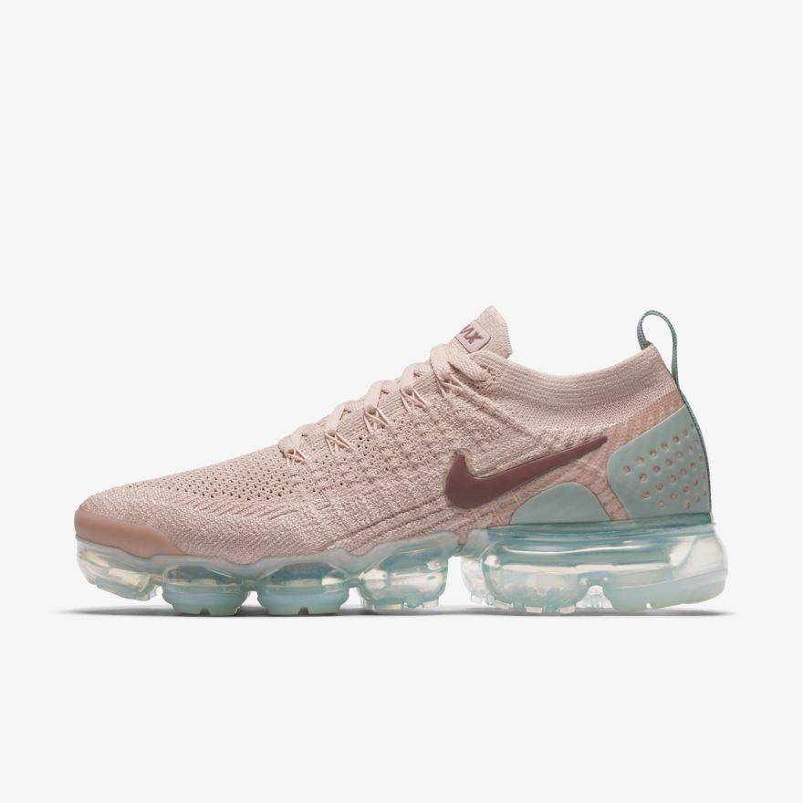new styles efa26 068d7 Air VaporMax Flyknit 2 - Womens Running Shoes Particle Beige ...