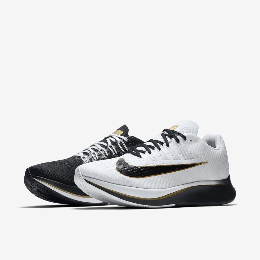 Zoom Fly Men's Running Shoe Black White - 880848-006