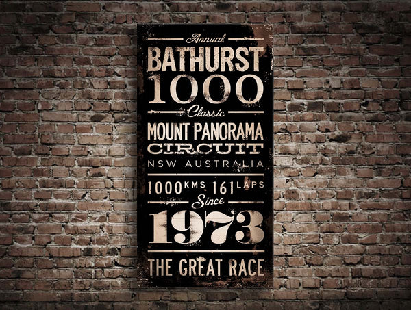 Bathurst 1000 Turnstyle Canvas Print