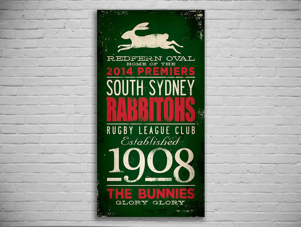 2014 PREMIERS Rabbitohs Turnstyle Prints