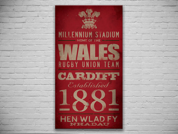 Wales Canvas Print