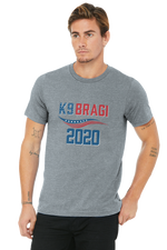 K9 Bragi Make America Safe Again - BELLA+CANVAS ® Made In The USA Jersey Short Sleeve Tee