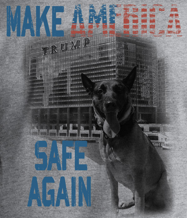 K9 Bragi Make America Safe Again - Port & Company® Ring Spun Cotton Tee