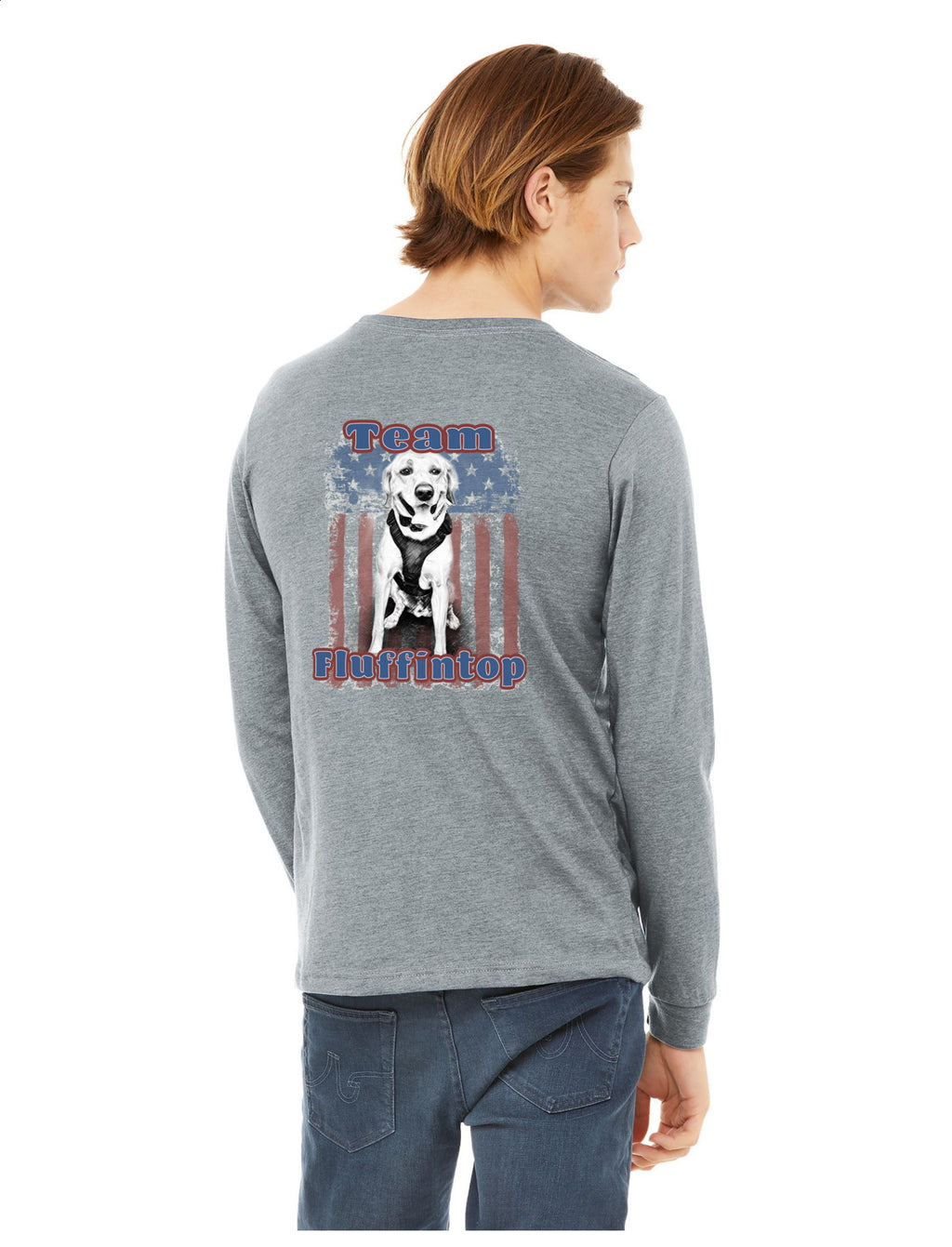 K9 Loki Supporter- BELLA+CANVAS ® Unisex Jersey Long Sleeve Tee