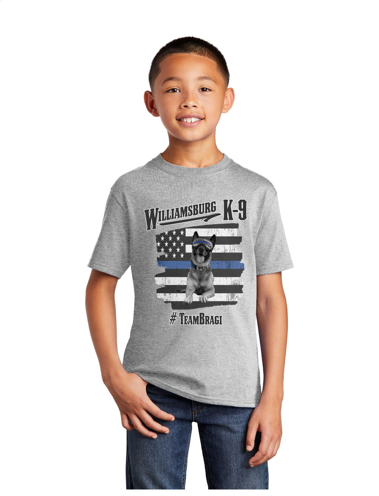 K9 Bragi WPD - Youth Short Sleeve Tee