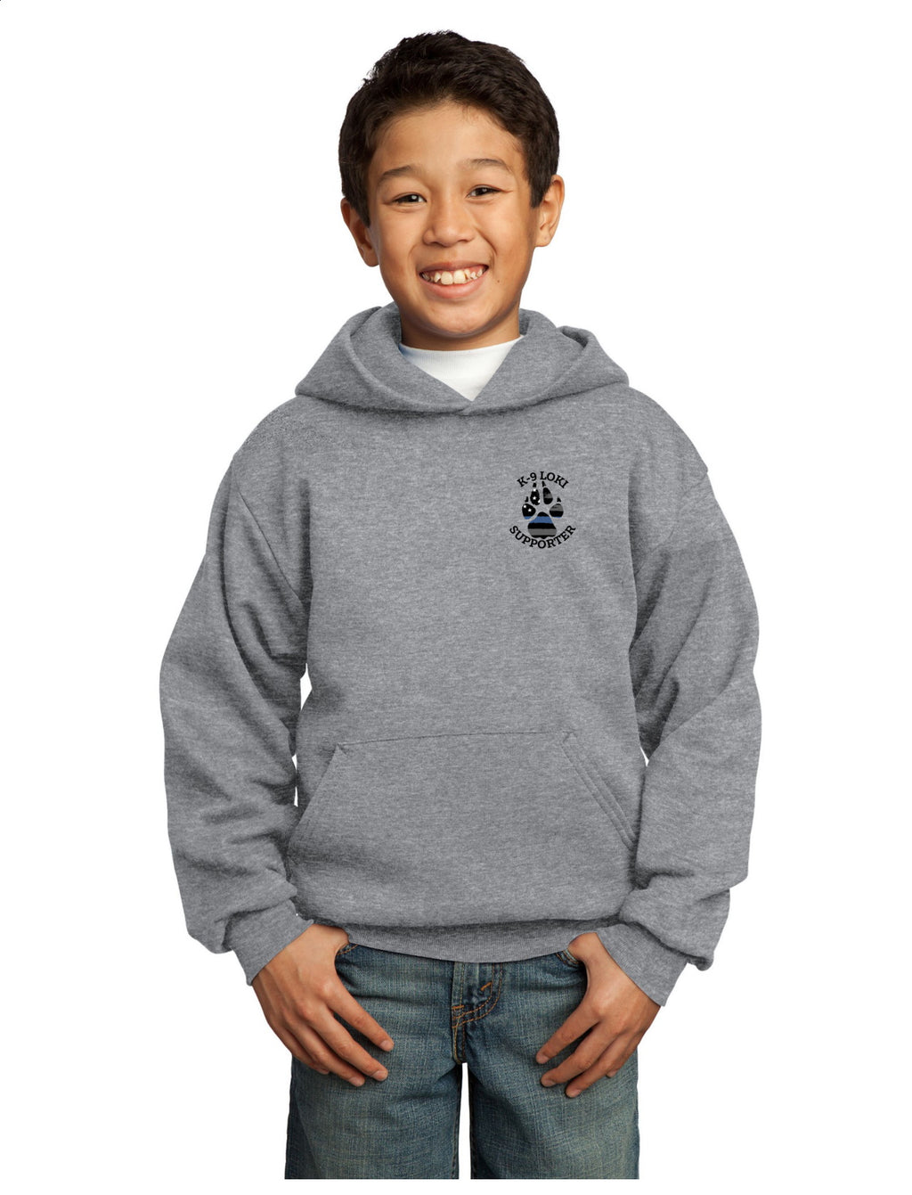 K9 Loki Supporter - Youth Hoodie