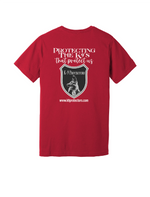 Canvas red back K9 Protectors - Jersey Short Sleeve Tee