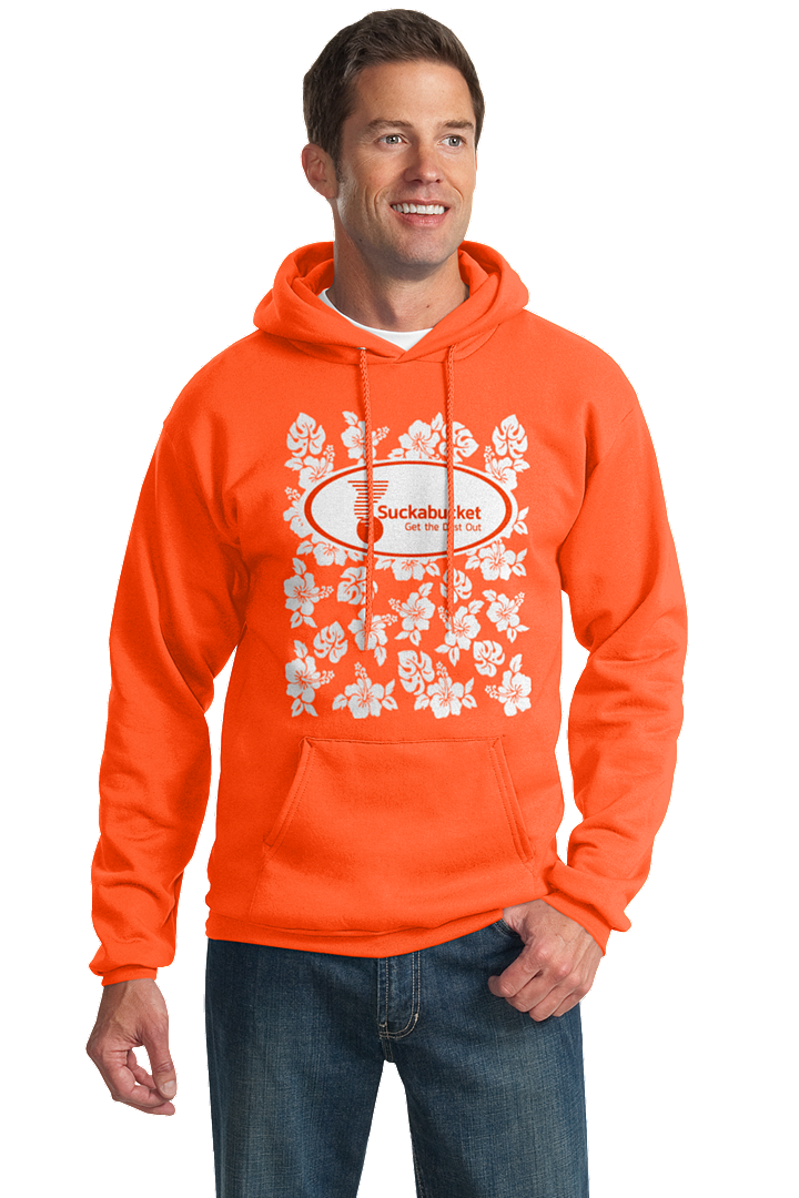 Front Suckabucket - Port & Company® - Essential Fleece Pullover Hooded Sweatshirt
