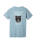 Light blue back K9 Protectors - Jersey Short Sleeve Tee