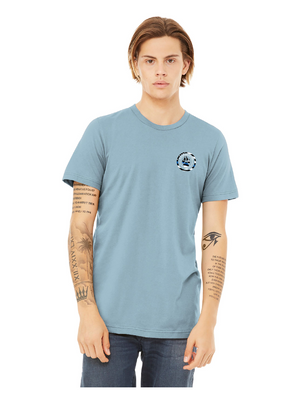 Light blue front K9 Protectors - Jersey Short Sleeve Tee