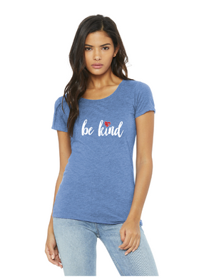 Be Kind - BELLA+CANVAS ® Women's Triblend Short Sleeve Tee