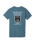 Steel blue back K9 Protectors - Jersey Short Sleeve Tee