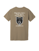 Tan back K9 Protectors - Jersey Short Sleeve Tee