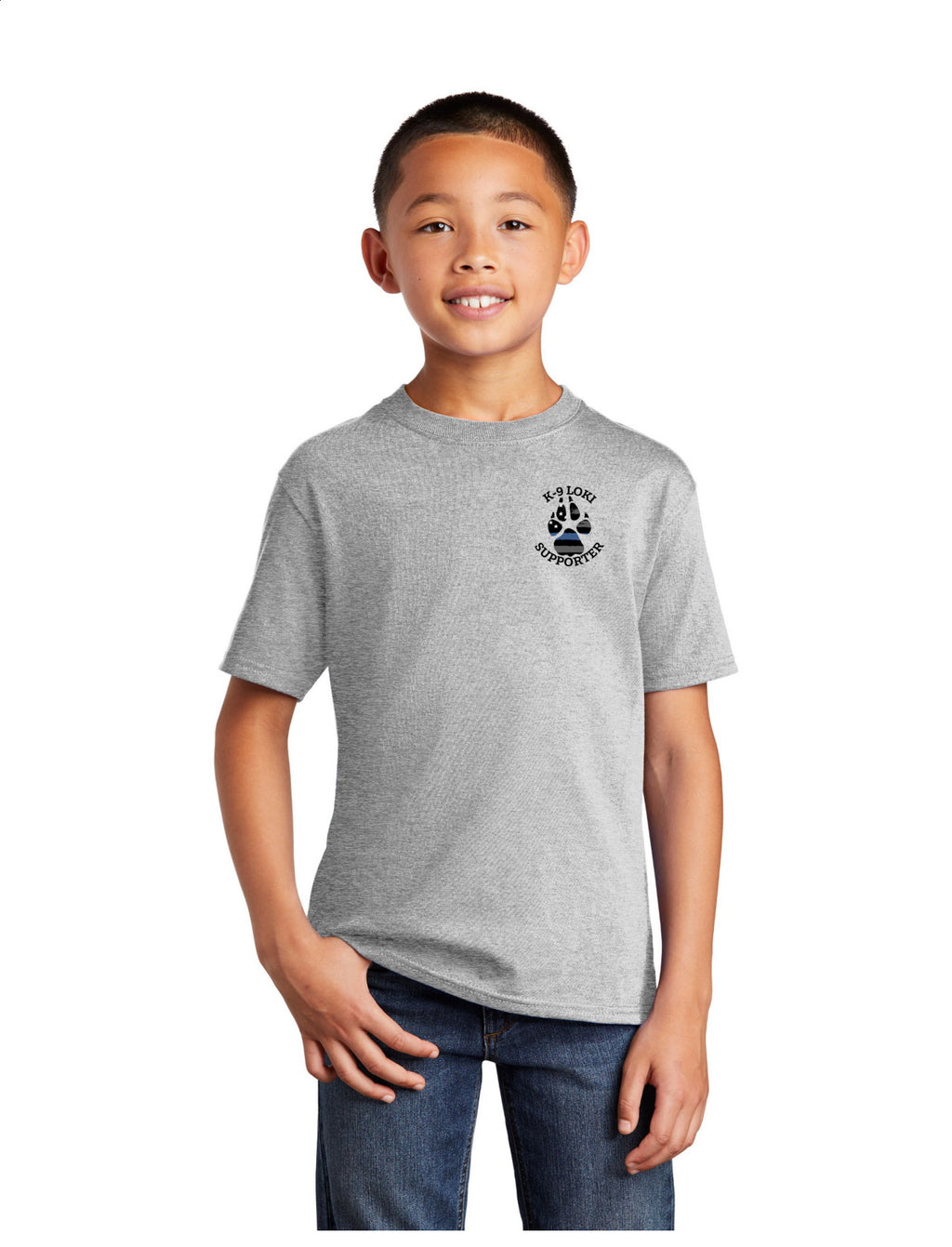 K9 Loki Supporter - Youth Short Sleeve Tee