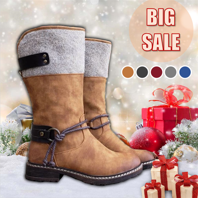 Women's Vintage Knight Boots