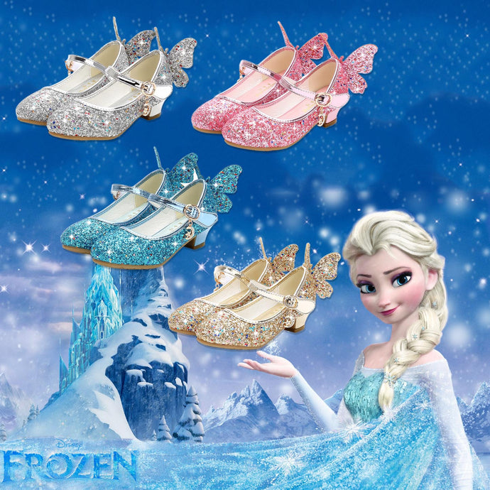2019 Princess Butterfly Shoes For Girl Kids