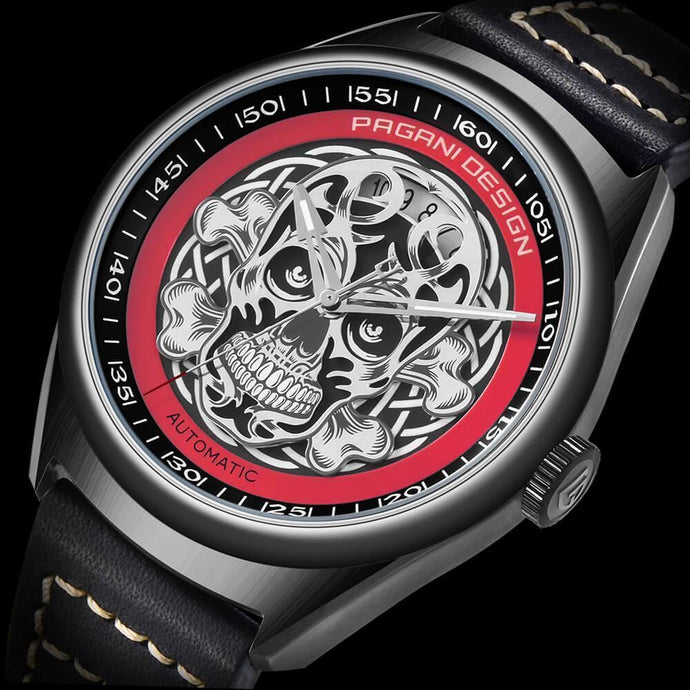 Pagani Force-X - Skull Watch