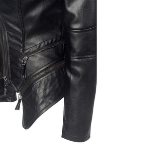 bestonow WLJ PAOLA Moto Leather Jacket