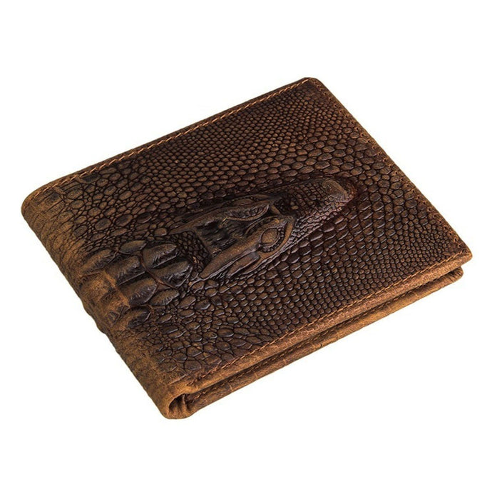 BesToNow Outwear Alligator Leather Wallet
