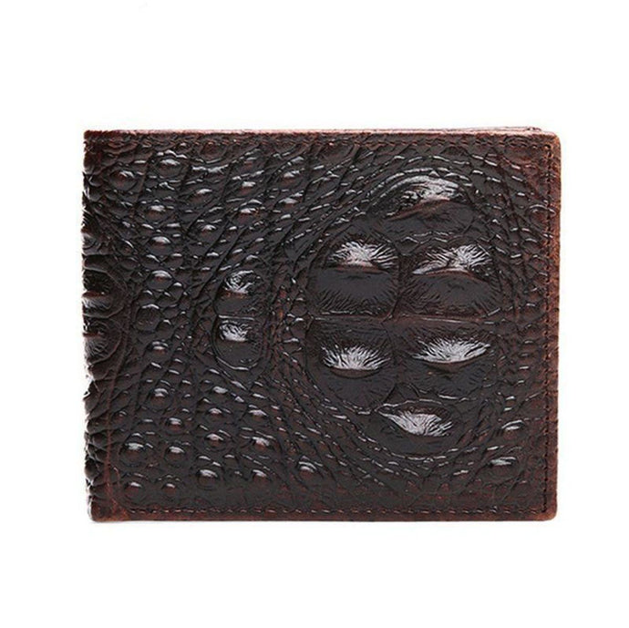 BesToNow Outwear Crocodile Embossed Wallet