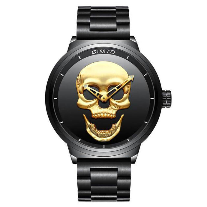 Valente 3D Skull Watch