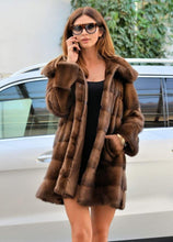 Load image into Gallery viewer, Jesame Fur Coats (Faux Fur)Faux Fur Coat