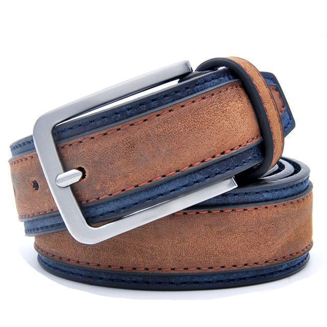 BesToNow Outwear Trimmed Leather Belt