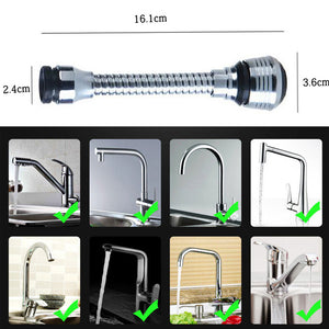 360 Rotatable Faucet Extender