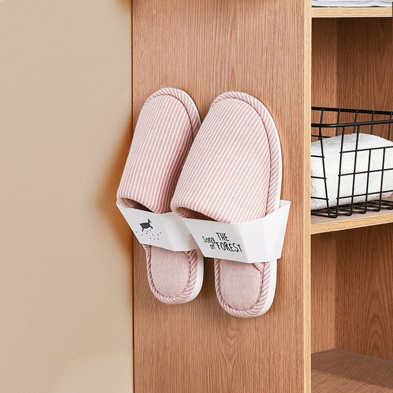 Wall-mounted shoe rack
