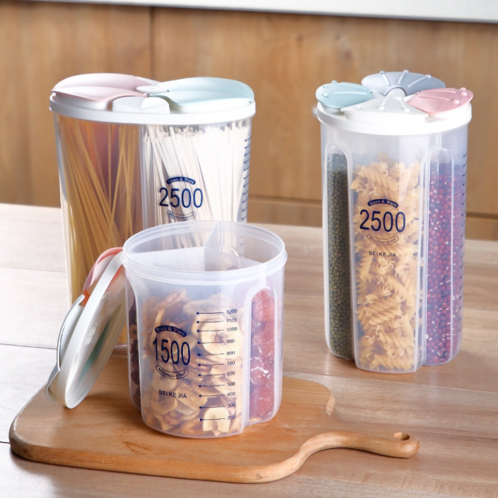 2-4 Compartments Food