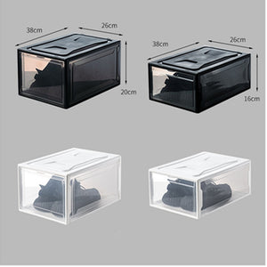 Transparent Shoes Box