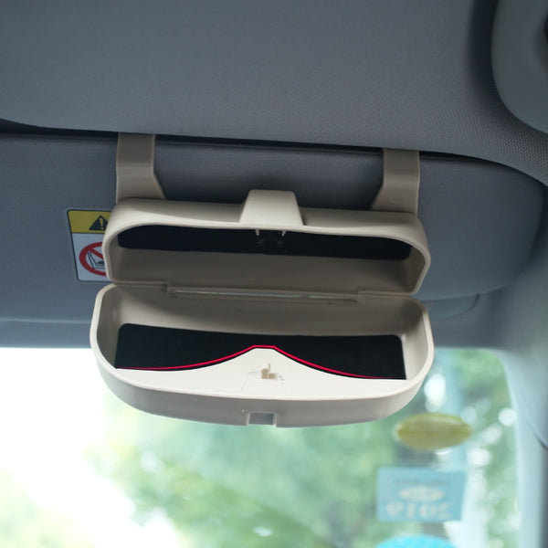 Car Glasses Box Storage Holder