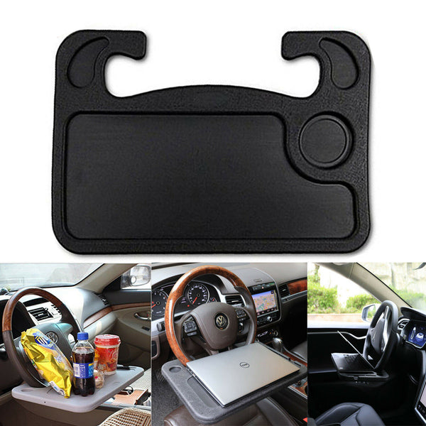 Portable Car Laptop and Food Steering Wheel Tray