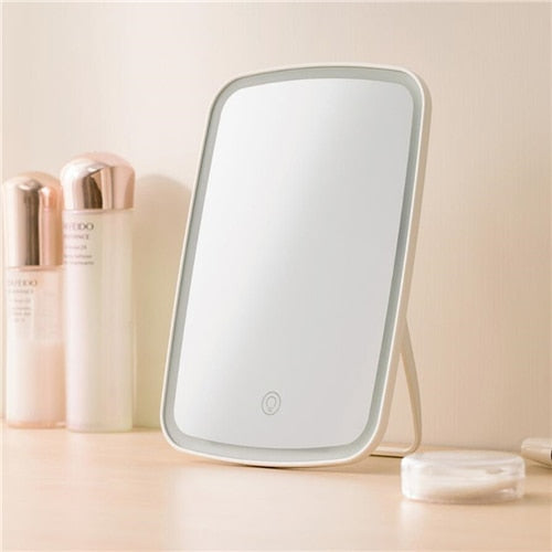 Intelligent portable makeup mirror