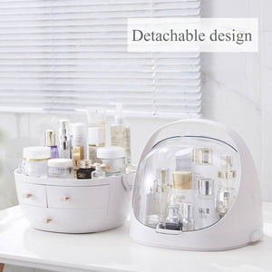 Cosmetics storage box waterproof and dustproof
