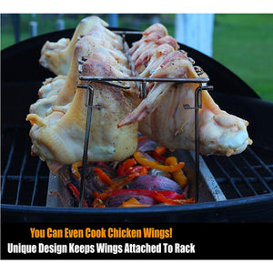 Chicken Wing and Leg Rack