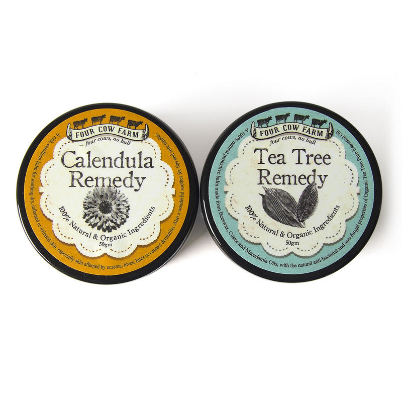 Calendula Remedy and Tea Tree Remedy