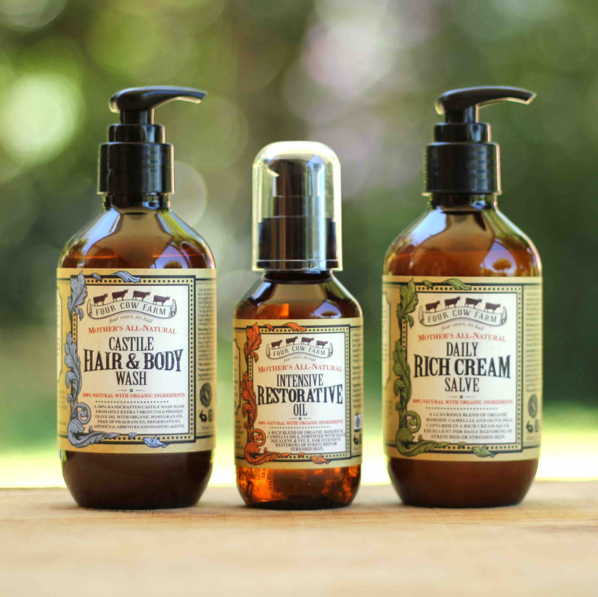 Four Cow Farm Mother's All-Natural Range