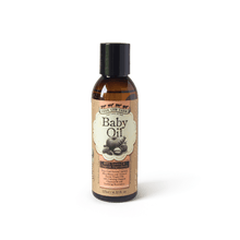 Baby Oil 125ml / 4.22 fl.oz-Moisturizer-Handcrafted Skincare-100% Natural and Organic Foodgrade Ingredients-Four Cow Farm Australia